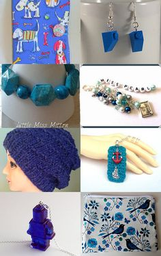 Beautiful blues by Kerry Cornell on Etsy--Pinned with TreasuryPin.com