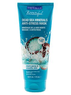 Dead Sea Minerals Anti-Stress Mask from Freeman | Find more cruelty-free beauty @Quirkist |