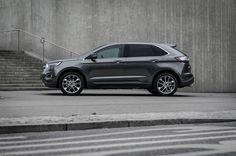 Ford #Edge #seitlich #Grau #Regensburg #Dünnes