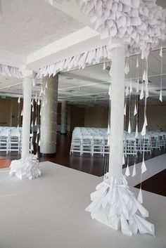 Papering the House: Newberry Brothers Creates a Paper-decor Wedding
