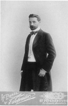 Hot Vintage Men: Prince Sergei Volkonsky