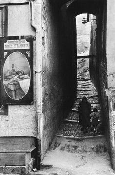 Henri Cartier-Bresson, Brianconfrance, 1951.