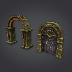 Cloudy Dungeon Set - Architecture - 13