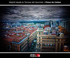 Madrid desde la terraza del Gourmet
