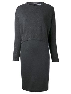 Shop Brunello Cucinelli layered dress in Mario's from the world's best independent boutiques at farfetch.com. Over 1000 designers from 60 boutiques in one website.