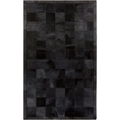 Vegas Black and Gray Rectangular: 9 Ft x 12 Ft Rug - (In Rectangular)