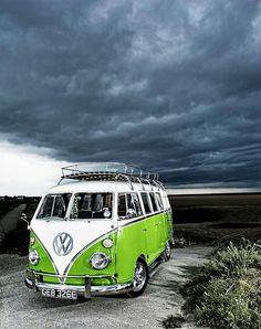 Twitter / Volkswagen_CV: The Volkswagen Campervan, shining ...