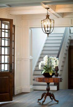 Traditional Interior Design Style Foyer Chandelier, Foyer Lighting, Antique  Brass Chandelier, Luxury Lighting