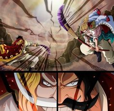 Edward Newgate (Shirohige) vs Gol D. Roger - One Piece Capítulo 966 Manga One Piece Manga, One Piece Gif, One Piece World, One Piece Drawing, One Piece Comic, One Piece Fanart, One Piece Images, One Piece Wallpapers, One Piece Wallpaper Iphone
