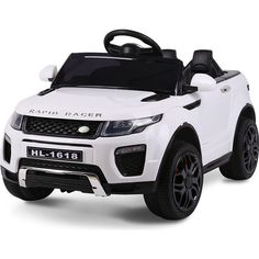 ROVO KIDS Ride-On Car Electric Toy Childrens Battery Powered w/ Remote White - 9348948043347 For Sale, Buy from Ride On Cars collection at MyDeal for best discounts. Toy Cars For Kids, Toys For Girls, Kids Toys, Pink Range Rovers, Range Rover Hse, Kids Power Wheels, Little Girl Toys, Kids Ride On, Ride On Toys