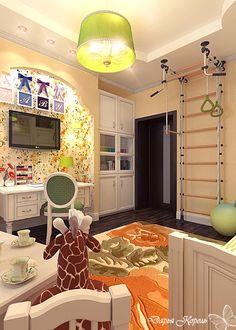 #kids_room  #bedroom #interior #design Французская детская комната /  Ваш Королевский дизайн