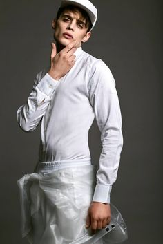 Editorial Man - Total white - Fashion Styling #giuliasolda14