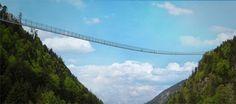 Dit wordt de langste hangbrug voor voetgangers