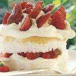 Çilekli Melek Pasta Tarifi Strawberry Shortcake Recipes, Strawberry Recipes, Frozen Strawberries, Cream And Sugar, Baking Pans, Vanilla Cake, Sweet Treats, Cheesecake, Sweets