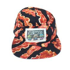 NEW! Bacon Five Panel Hat