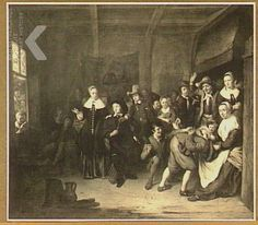 Boerenbruiloft Cornelis de Man