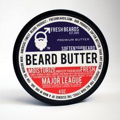 """""""Major League"""" Beard Butter"""