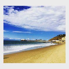 "@kylepbecker's photo: ""Enjoying #Malibu with @jessmunks"""