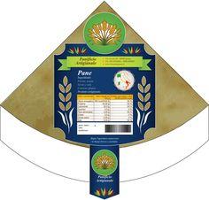 Bozza Etichetta Panificio 8. Bozza grafica etichetta per pane carasau. #giuliabasolugrafica #graphic #illustration #drawing #illustrator #digitalart #vector #label #bakery #breadshop