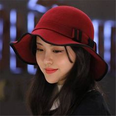 d5f895a1b33 39 Best Wide brim felt floppy hat for women winter hats images ...