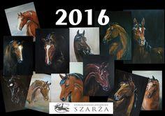 Pomysły plastyczne dla każdego DiY - Joanna Wajdenfeld: Kalendarz Konie 2016