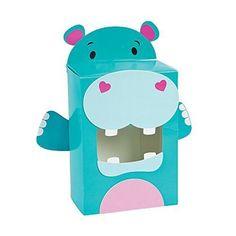 Hippo Valentine Card Holder Box Craft Kit