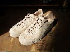 598cae65b Adidas Adidas Samoa Vintage X Oyster Holdings (Pale Nude) Size 9  64 -  Grailed