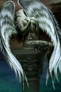 Znalezione obrazy dla zapytania skrzydła anioła oplatające