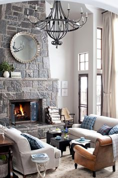 Curl up with these warm and inviting decorating ideas.