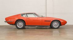 Maserati Ghibli SS Berlinetta (1970-1973 Model)