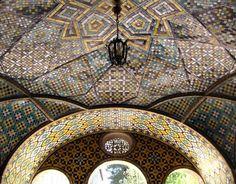 Colorful treasures of Iran's Golestan Palace 作者 Fotopedia Editorial Team
