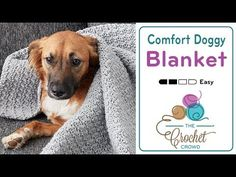 Whether it be for your sofa to protect your surface, or maybe something in the car to protect the upholstery, try the Crochet Doggy Comfort Blanket. This is ...