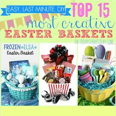 Top 15 Most Creative Easter Baskets