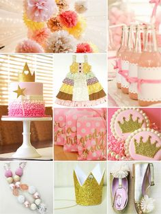 Jules' Got Style - Boutique Girls Clothing Blog: Princess Birthday Party Ideas