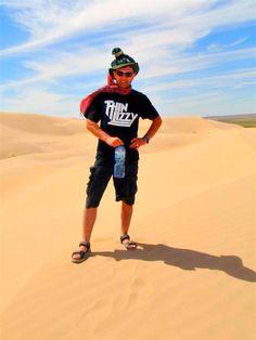 Climd to 300m high sand dune- Khongor sand dune in South Gobi