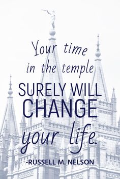 #apr18ldsconf #ldsconf #presnelson #russellmnelson #lds #temple #ldstemple #holiness #holy #priesthood #power #ordinances #covenants #blessings My dear brothers and sisters, construction of these temples may not change your life, but your time in the temple surely will.