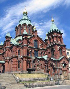 Uspenski Orthodox Cathedral, Helsinki