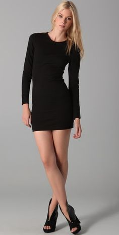 Perfect black dress for a night out