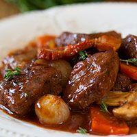 Braised Beef With Tomatoes & Coffee