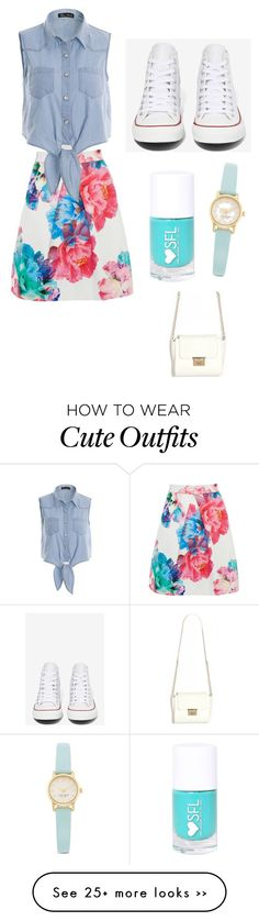 """Cute and casual spring/summer outfit"" by tjhn on Polyvore"