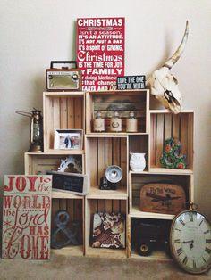 #Studio space #wooden crates