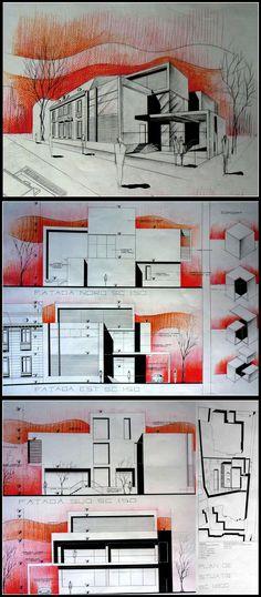 city house drawing by vssh.deviantart.com