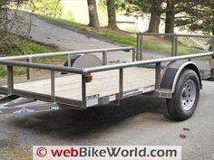 Diamond C Motorcycle Trailer Review - webBikeWorld