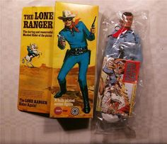 Annons på Tradera: Lone Ranger, svarta masken, oöppnad 1973 Marx toys. Childhood Toys, Childhood Memories, Modern Toys, The Lone Ranger, Retro Toys, Classic Toys, Old Toys, Gi Joe, Toy Store