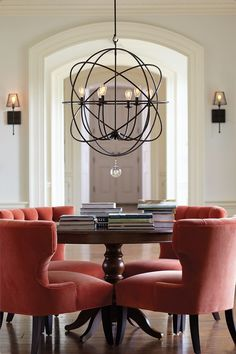 30 Marvelous Image of Dining Room Chandelier Ideas . Dining Room Chandelier Ideas How To Select The Right Size Dining Room Chandelier For The Home Dining Room Light Fixtures, Dining Room Lighting, Home Lighting, Lighting Ideas, Kitchen Lighting, Modern Lighting, Dining Room Chandeliers, Lighting Design, Luxury Lighting