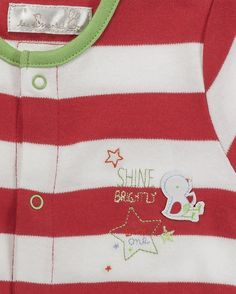 3 Pack Baby Unisex Bright Sleepsuits Babygrows - Red  www.theessentialone.com #babyfashion #baby #kidsfashion #parenting #newborn #babystuff #theessentialone
