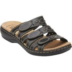 987c084161d6 Clarks Women s Leisa Cacti Black Leather
