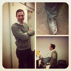 Producer @MackayTaggart wears a controversial outfit. Is it business formal? Or Churchwear Chic?