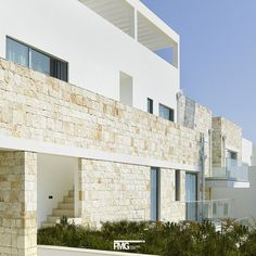 Residence Chiar di Luna Polignano a Mare (BA) - Italia Monica Alejandra Mellace | Materials applied: White Purity and Dark Depth