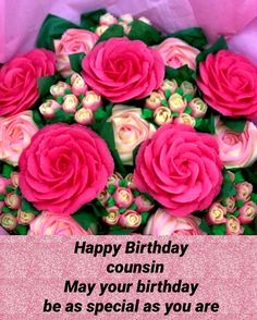 Happy Birthday Cousin, Happy Birthday Images, Happy Birthday Greetings, Birthday Greeting Cards, Birthday Wishes, Family Birthdays, Cousins, Pictures, Happy Birthday Pictures